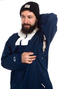 Airblaster Vintersars Snowboard Jacket (navy white)