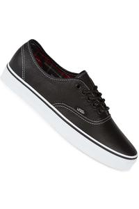 Vans Authentic Leather Schuh (black plaid)