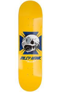 """Baker Hawk Tribute 8.125"""" Deck (yellow)"""