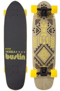"""Bustin Modela 33"""" (83,8cm) Komplett-Longboard (aztec yellow)"""