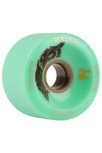 Remember Hoot Slide 70mm 80A Rollen (seafoam green) 4er Pack