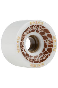Remember Savannah Slamma 70mm 78A Rollen (white) 4er Pack