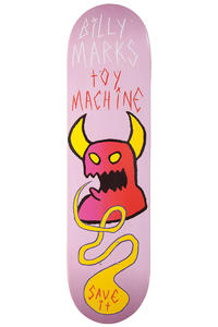 """Toy Machine Marks Save It 8"""" Deck (pink)"""
