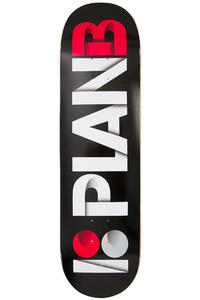 "Plan B Team Overlap 8.5"" Deck (black)"