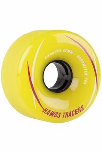 Hawgs Tracer 67mm 78A Wheel (yellow) 4 Pack