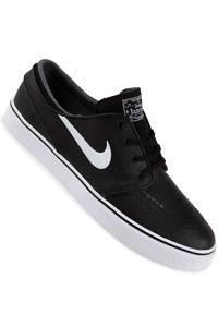Nike SB Zoom Stefan Janoski Leather Schuh (black white)
