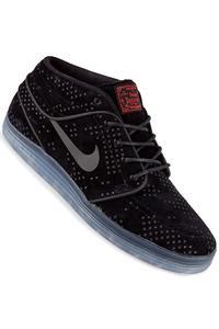 Nike SB Lunar Stefan Janoski Mid Flash Schuh (black black clear)