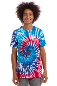 SK8DLX Tie Dye T-Shirt (red blue)