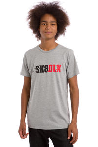 SK8DLX Racer T-Shirt (heather grey)
