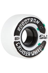 Robotron Cruiser 56mm Wheel (white) 4 Pack