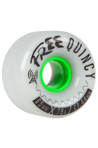 Free Wheels Quincys 65mm 79A Rollen 4er Pack
