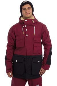 Colour Wear Shelter Snowboard Jacket (burgundy)