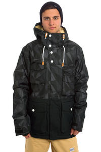 Colour Wear Shelter Snowboard Jacket (black ceramic)