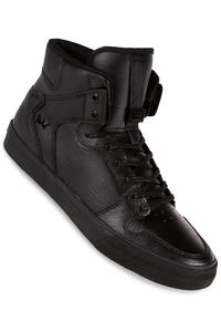 Supra Vaider Leather Schuh (black black red)