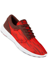Supra Hammer Run Schuh (red burgundy white)