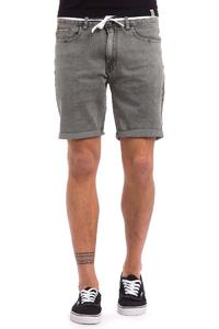 Iriedaily ID Slim Shot 2 Shorts (grey bleach washed)