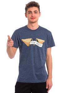 Iriedaily You Suck T-Shirt (navy melange)