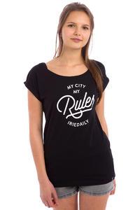 Iriedaily Rules T-Shirt women (black)