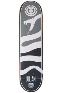 "Element Julian Silhouette 8"" Deck (grey)"