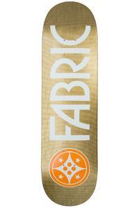 "Fabric Skateboards Canvas 8.4"" Deck (gold)"
