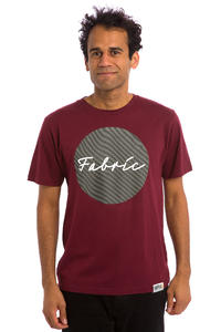 Fabric Skateboards Centro T-Shirt (maroon)