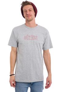 Etnies Mod Stencil T-Shirt (grey red)