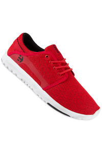 Etnies Scout Schuh (red white black)