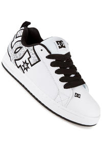 DC Court Graffik SE Shoe (white white print)