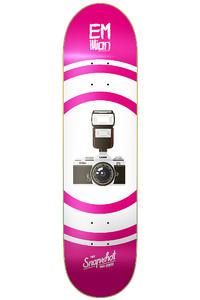 """EMillion Lang Snapshot Series 8.5"""" Deck (pink white)"""