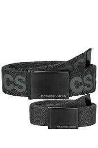 DC Chinook TX Gürtel reversible (black heather)