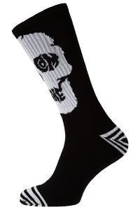 Volcom Token Socks US 9 - 12 (black on black)