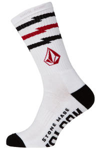 Volcom Token Socks US 9 - 12 (paint white)