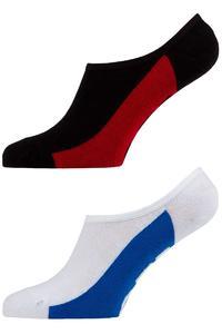 Globe Invisible Socken US 7-11 (black white) 5er Pack