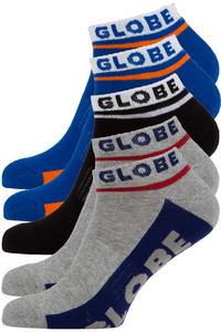 Globe Bueller Ankle Socken US 7-11 (multi) 5er Pack