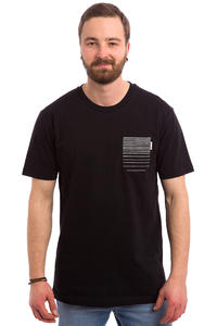 Cleptomanicx Spectra T-Shirt (black)