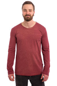 Cleptomanicx Indust 2 Longsleeve (dusty red)