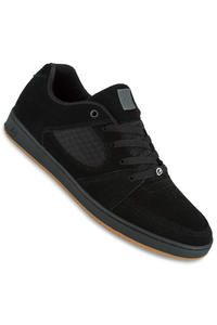 éS Accel Slim Shoe (black black gum)