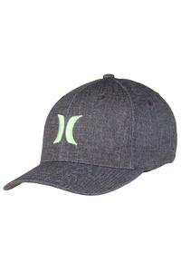 Hurley Black Suits FlexFit Cap (enamel green)