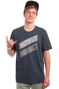Hurley Icon Slash Push Through T-Shirt (heather obsidian)