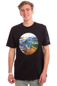Hurley Clark Little Rise T-Shirt (black)