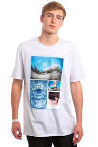 Hurley JJF Photo Aloha T-Shirt (birch heather)