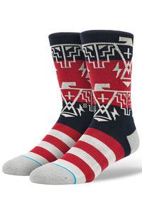 Stance Thundergod Socken US 9-13 (red)