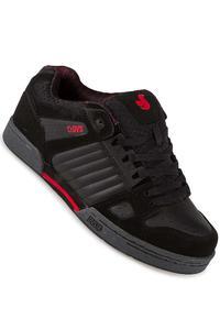 DVS Celsius Nubuck Schuh (black grey red deegan)