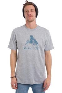 Burton Stamped Mountain T-Shirt (grey heather)