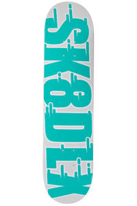 """SK8DLX Swift Series 7.625"""" Deck (turquoise)"""