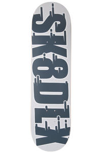 "SK8DLX Swift Series 8.25"" Deck (grey)"