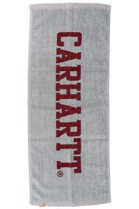 Carhartt WIP Stage Handtuch (grey heather cordovan)