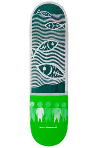 """Alien Workshop Papercuts Water 8.25"""" Deck (multi)"""