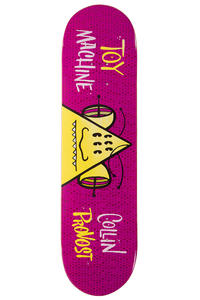 """Toy Machine Provost Toon Time 8"""" Deck (pink)"""