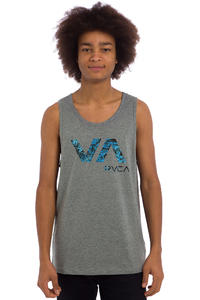 RVCA Tropic Doom Tank-Top (athletic heather)